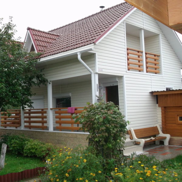 дом в котором я бы жил с женой, сыном и дочкой